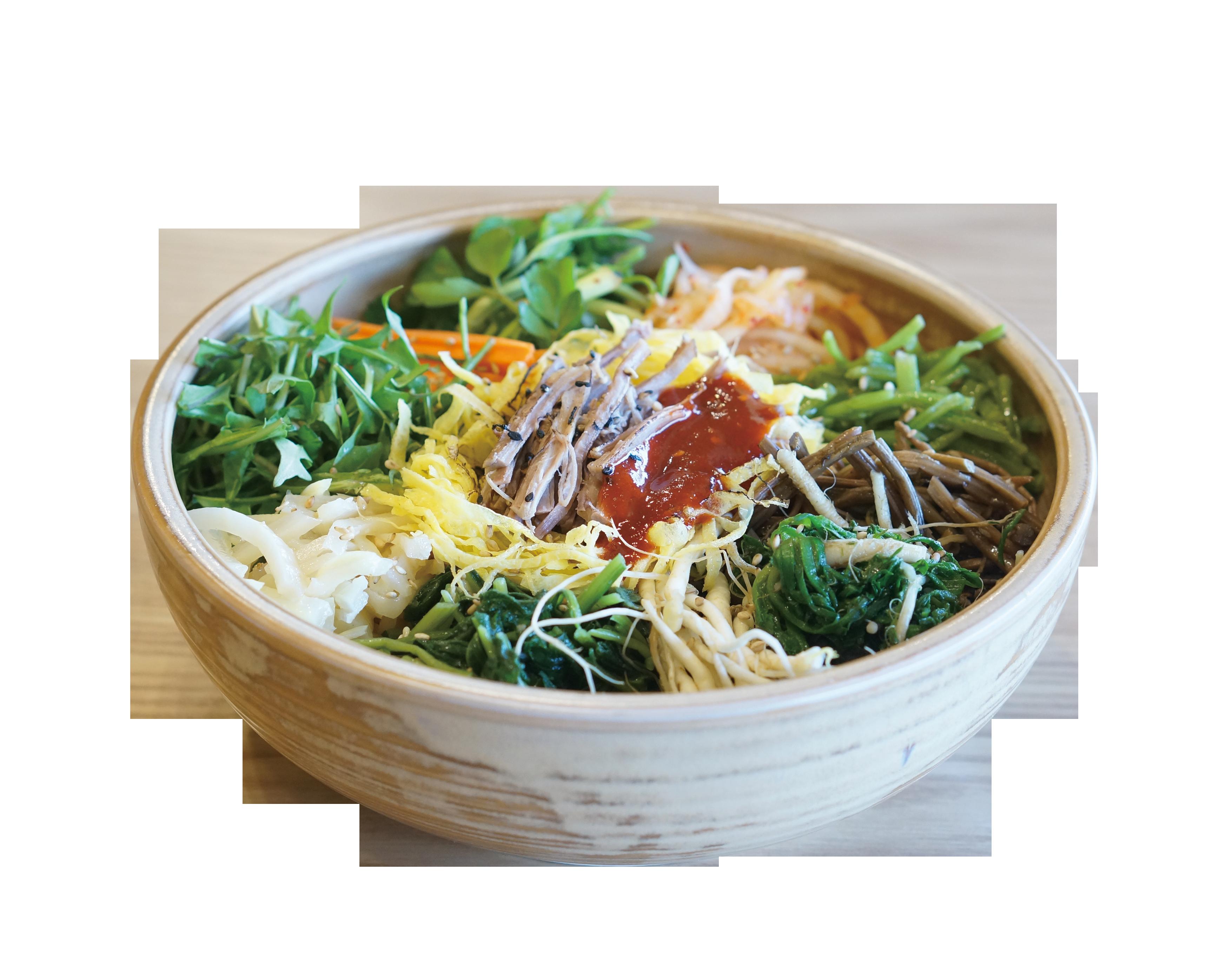 늘보리 봄나물 비빔밥