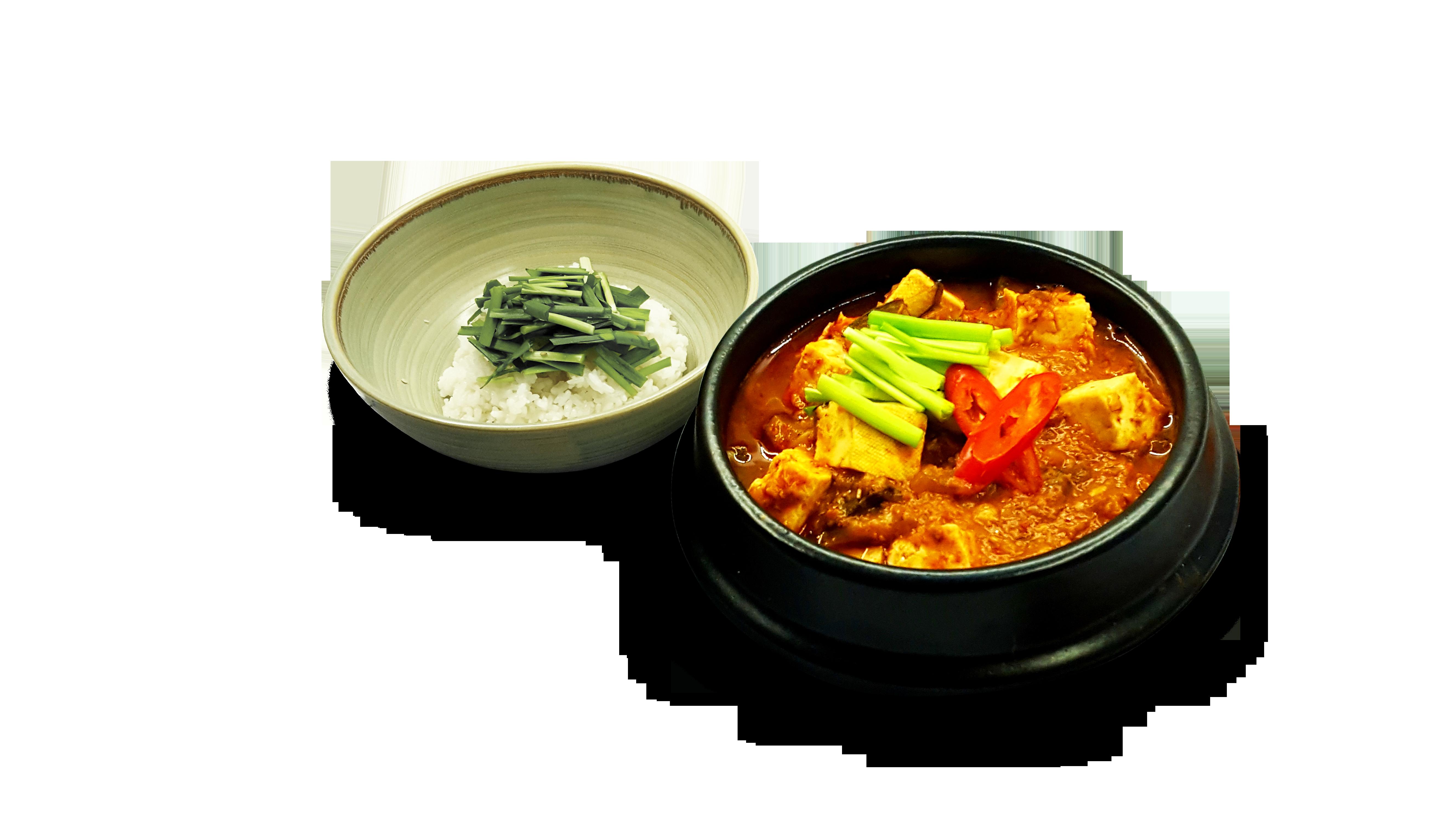 강된장 부추 비빔밥